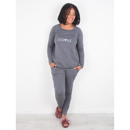 Chalk Tasha Amour Top - Gemini Exclusive  - Grey