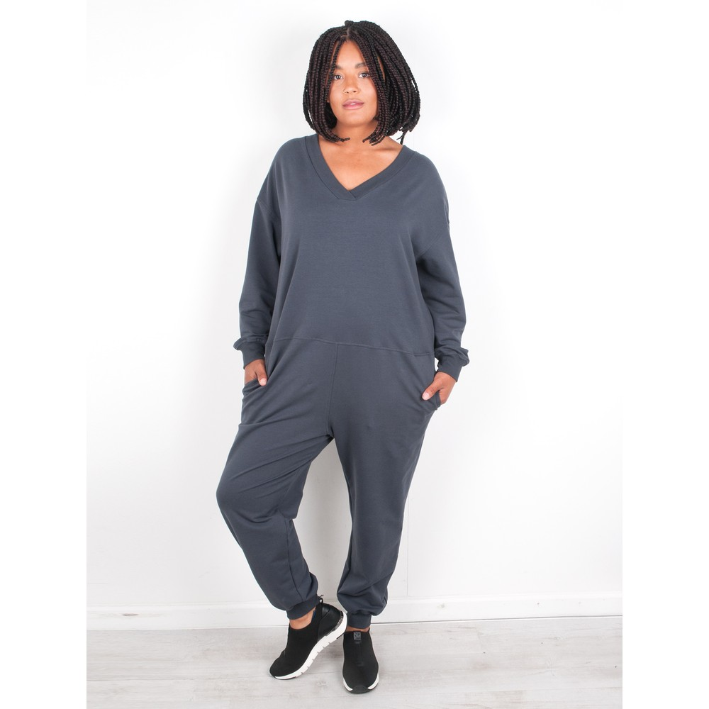 Chalk Julie All In One Jumpsuit Charcoal