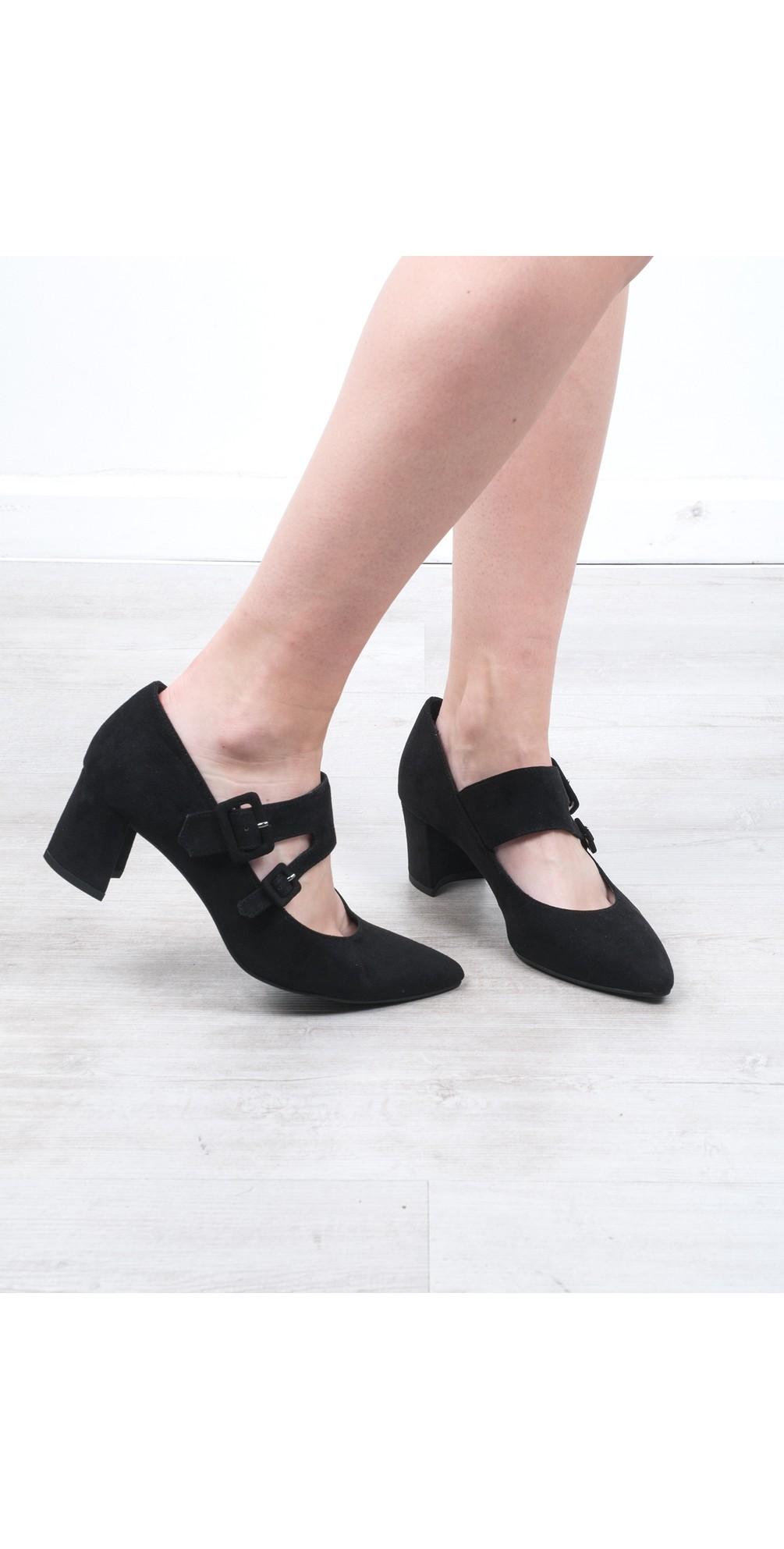 Baci Mary Jane Faux Suede Shoe main image