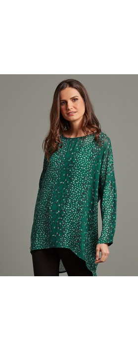 Adini Jordan Tunic Emerald