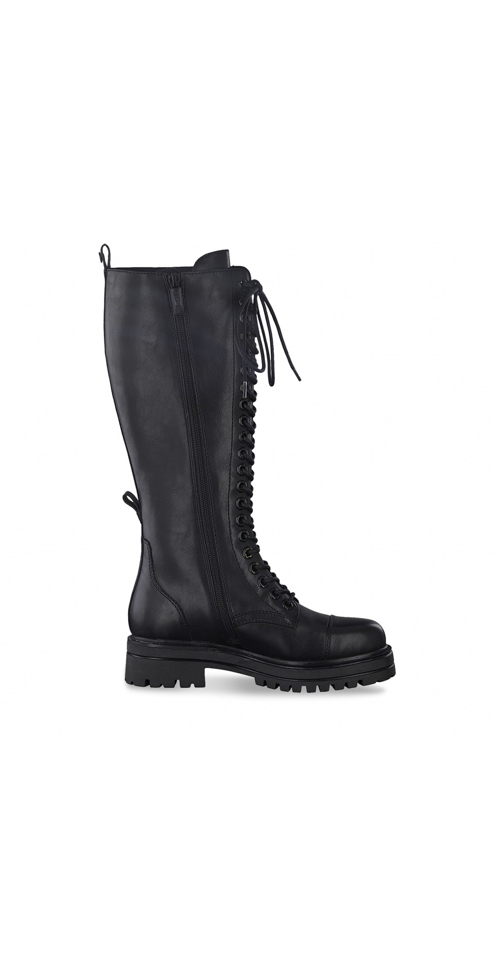 Tris Biker Long lace Front Boot main image