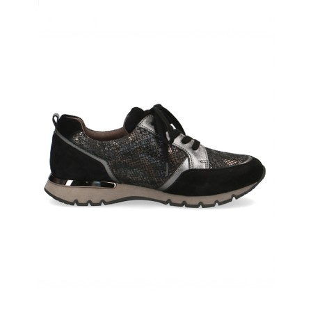 Caprice Footwear Comfort Trainer Shoe  - Black