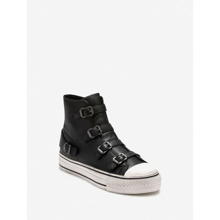 Ash Virgin Classic Buckle Trainers - Black