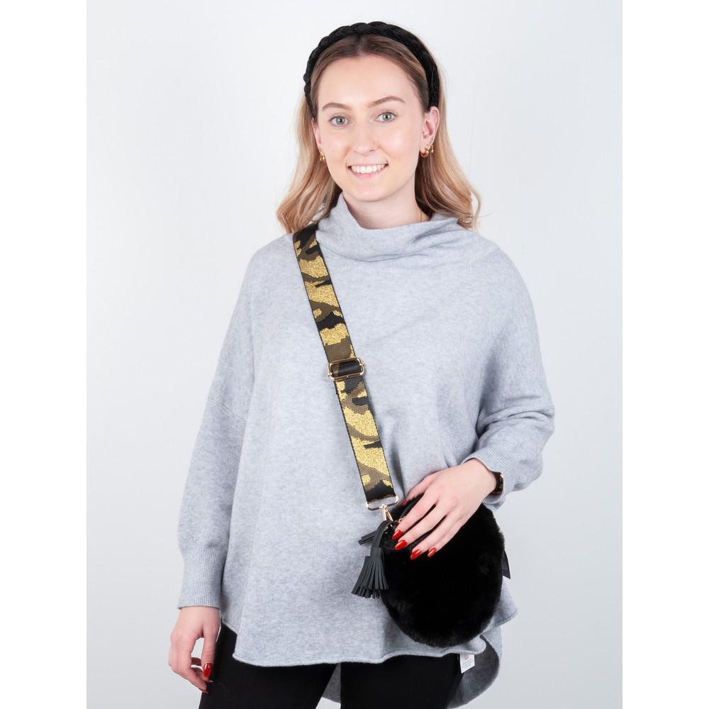 Kris-Ana Greta Bag Strap Camo Gold