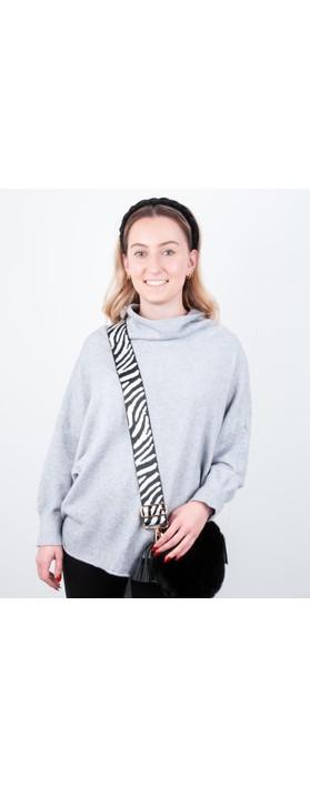 Kris-Ana Greta Bag Strap Zebra White