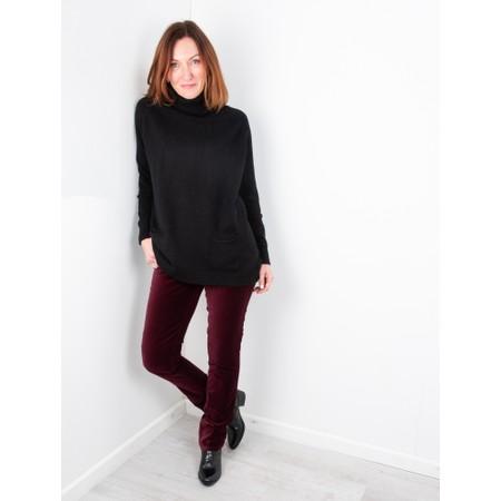Amazing Woman  02 Velvet Straight Leg Jean - Red