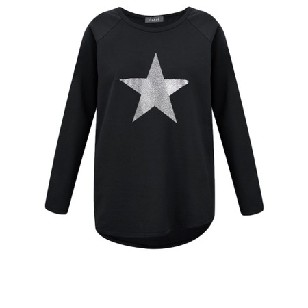 Chalk Tasha Star Top - Black