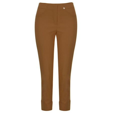 Robell  Bella 09 Ankle Length 7/8 Cuff Trouser - Bronze
