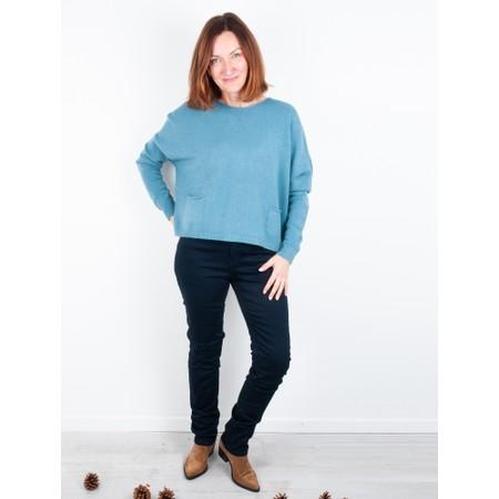 Amazing Woman  02 Guapa Straight Leg Slim Fit Jean - Blue