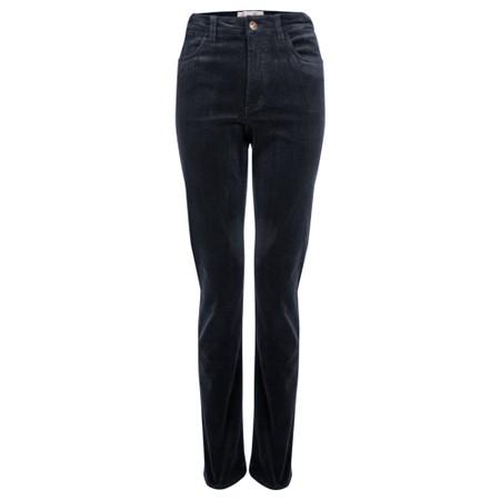 Amazing Woman  02 Cord Straight Leg Jean - Blue