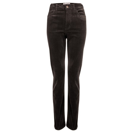 Amazing Woman  02 Cord Straight Leg Jean - Brown