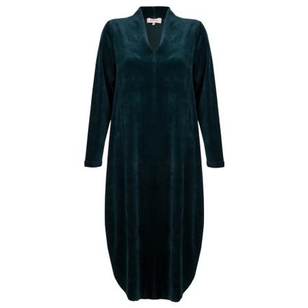 Sahara V Neck Dress - Blue