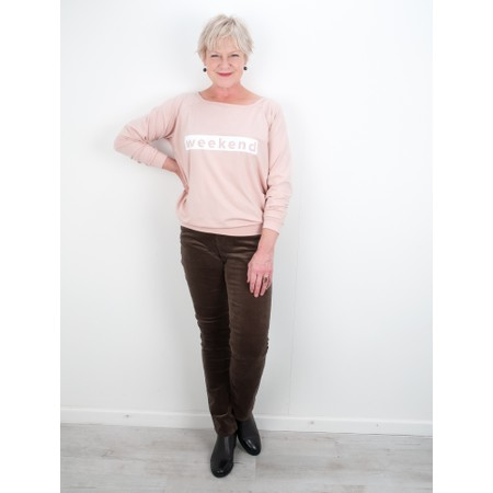 Chalk Holly Weekend Top - Pink
