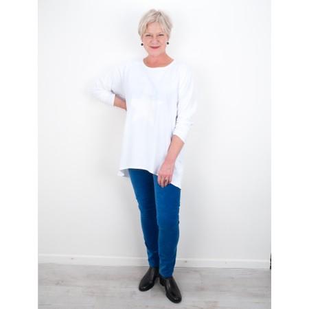 Amazing Woman  02 Velvet Straight Leg Jean - Blue