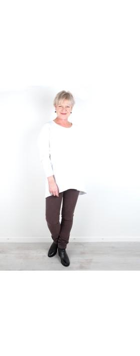 Amazing Woman  11 Cord Mid Rise Jean Mole