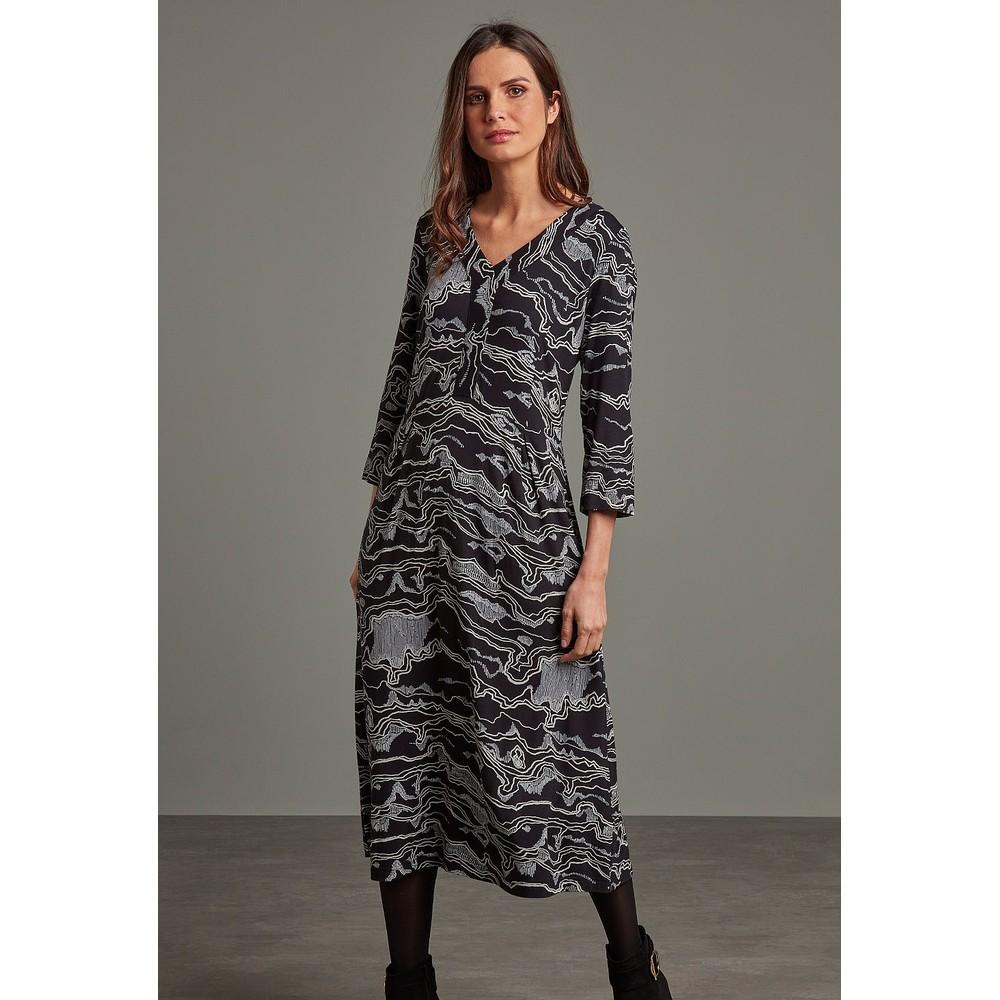 Adini Gina Midi Dress Black