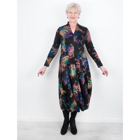 Sahara V Neck 2 Pocket Floral Dress - Multicoloured