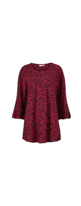 Masai Clothing Bet Top Scarlet Sage