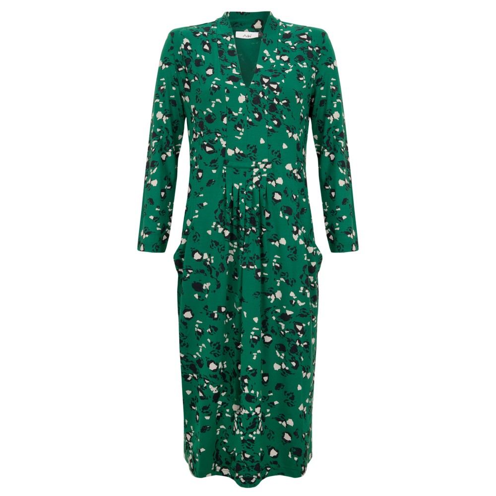 Adini Cathleen Dress Emerald