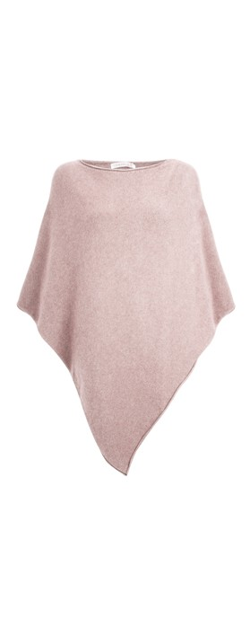Amazing Woman Poncho in Supersoft Knit  Antique Rose