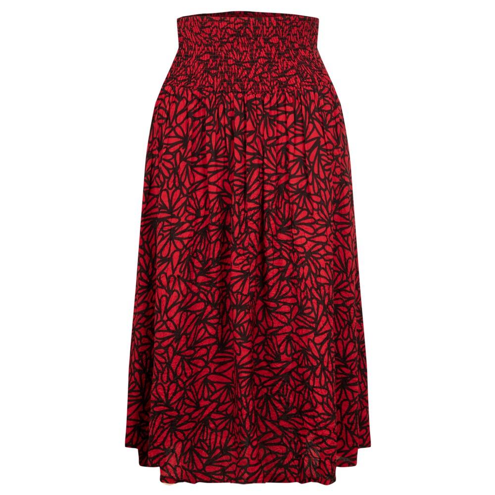 Masai Clothing Sondra Skirt Scarlet Sage