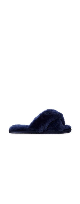 EMU Australia Mayberry Midnight Sheepskin Slider Slipper Midnight