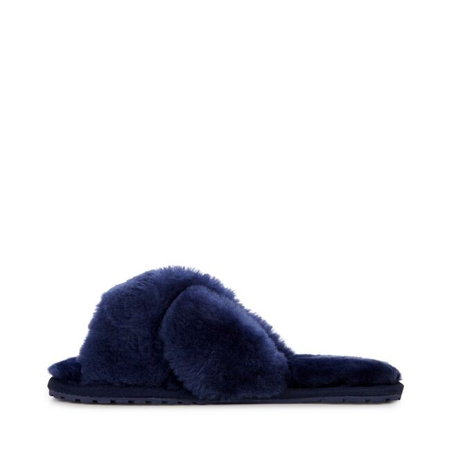 Mayberry Midnight Sheepskin Slider Slipper main image