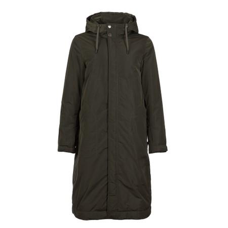Frandsen Long Parka Coat - Beige