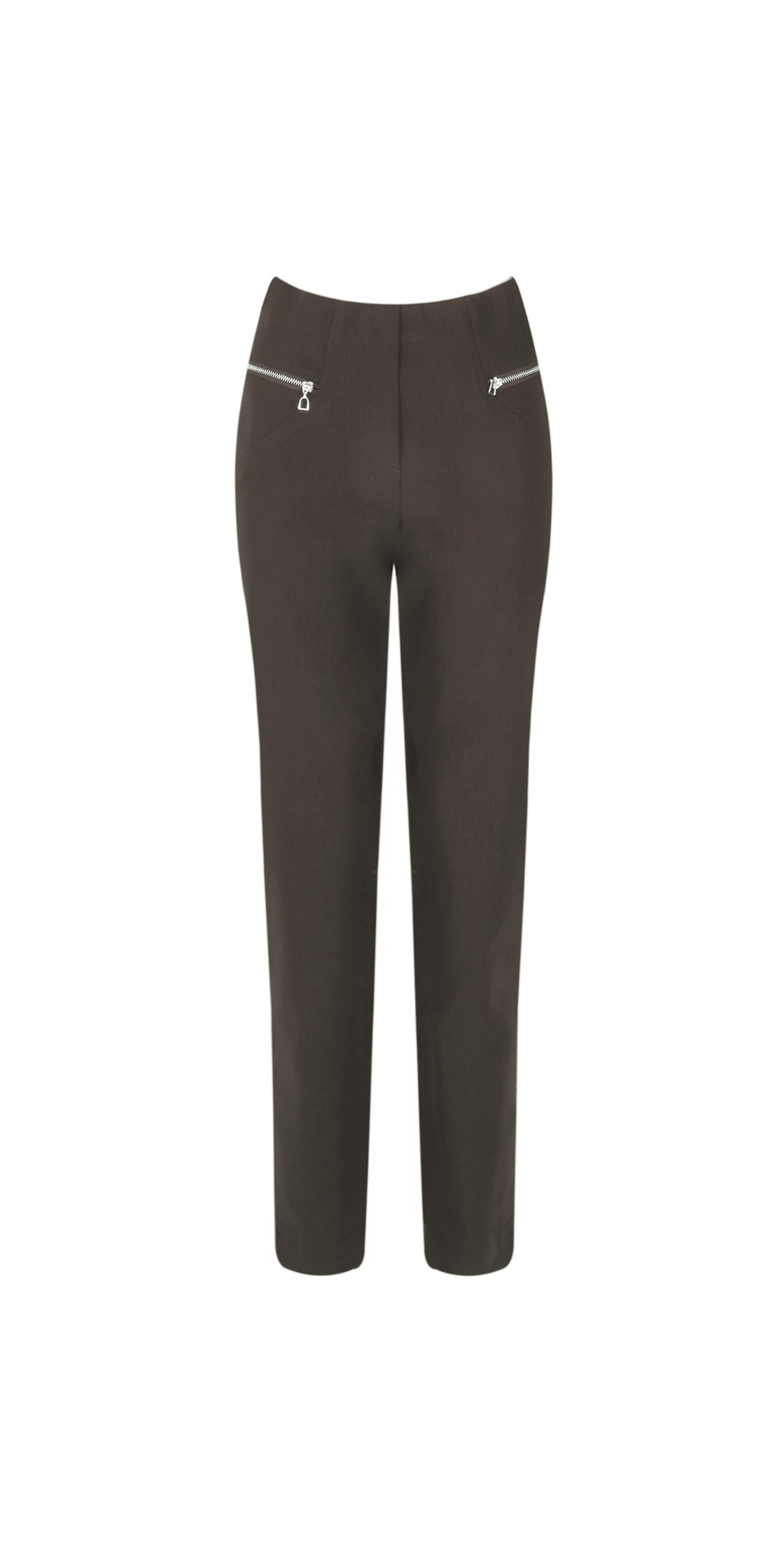 Mimi Almond 75cm Zip Pocket Trouser main image