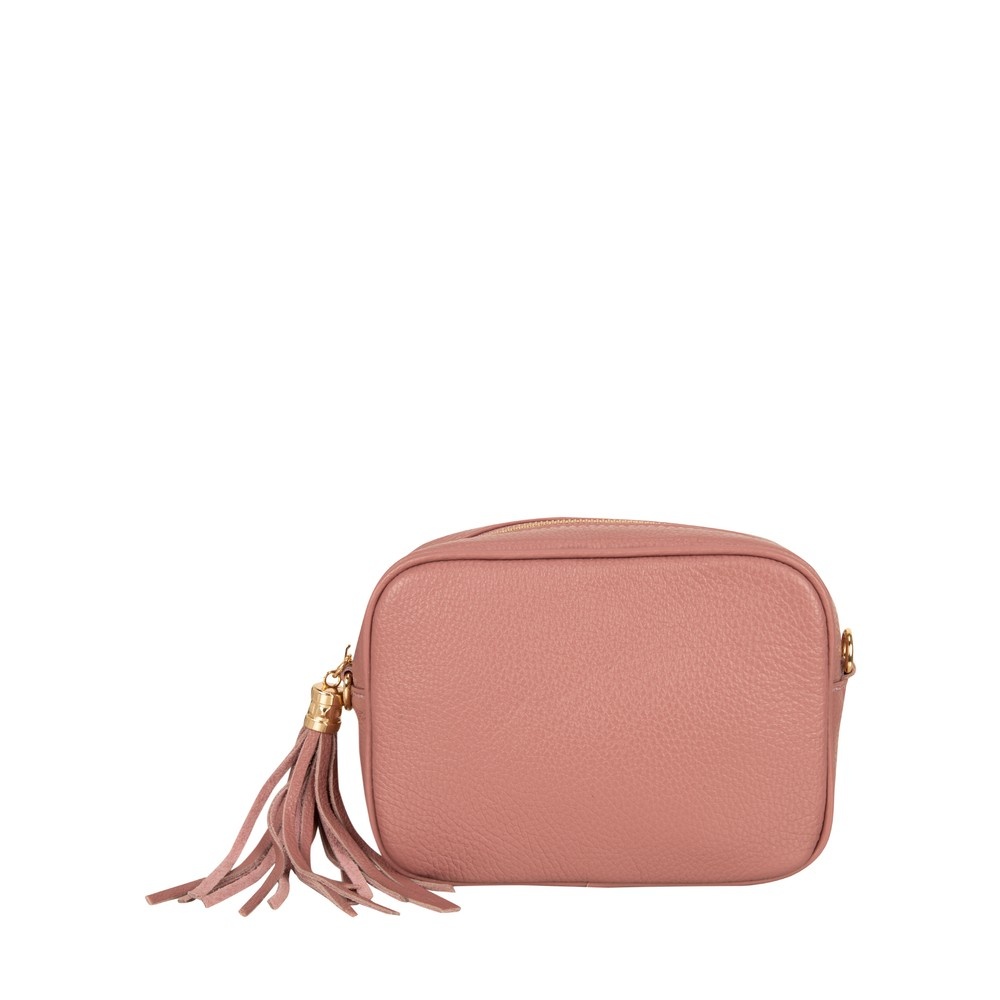 Gemini Label Bags Connie Cross Body Bag Dusty Pink