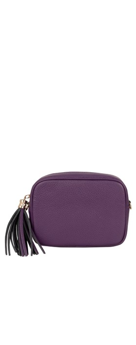 Gemini Label Bags Connie Cross Body Bag Purple