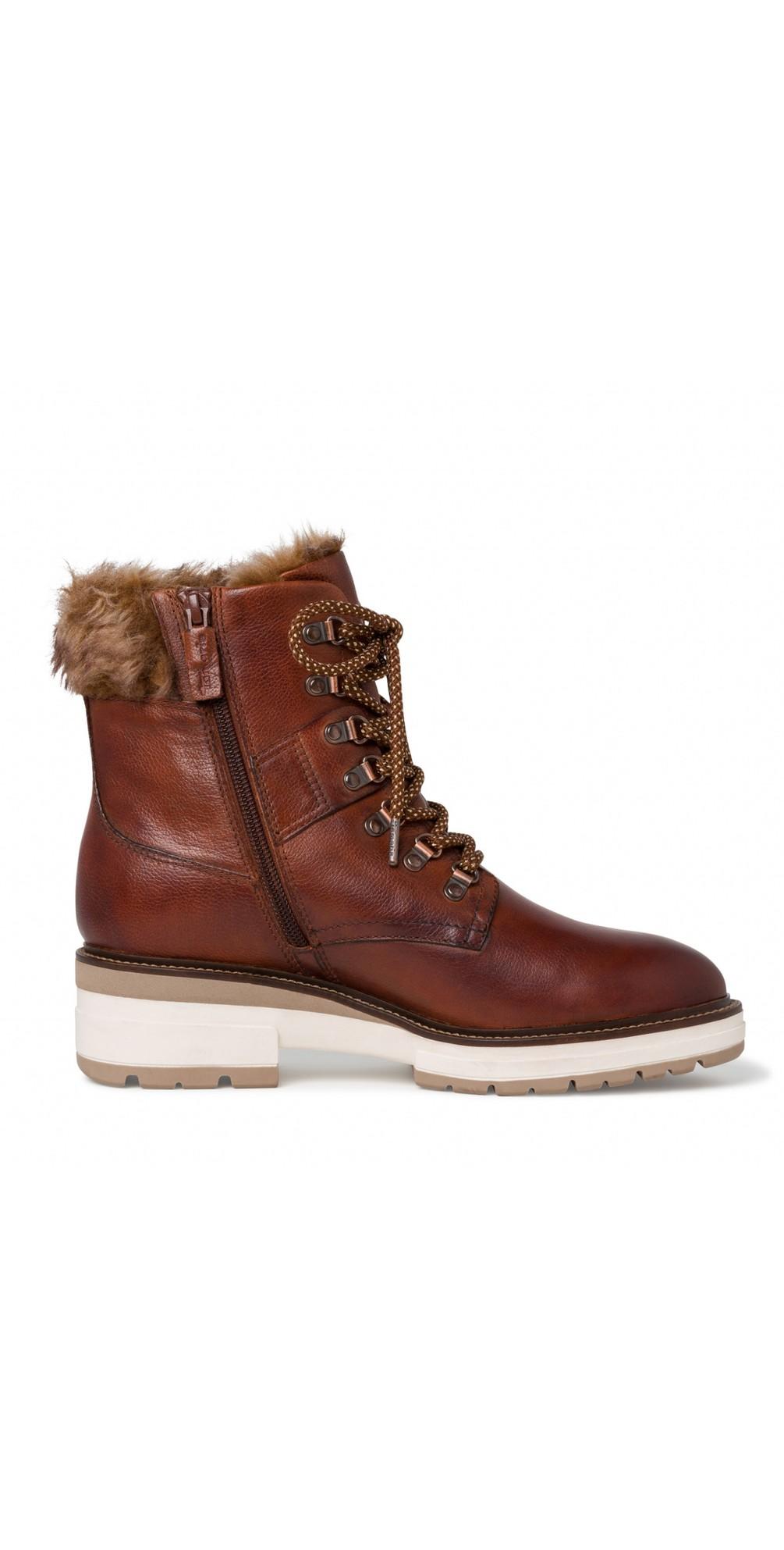 Hiker Leather Duotex Fur Trim Boot  main image