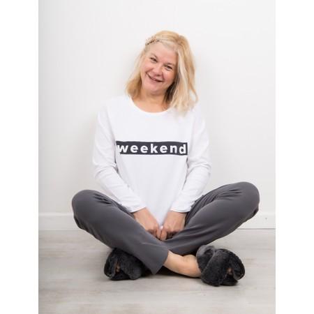 Chalk Gemini Exclusive ! Tasha Weekend Top - White