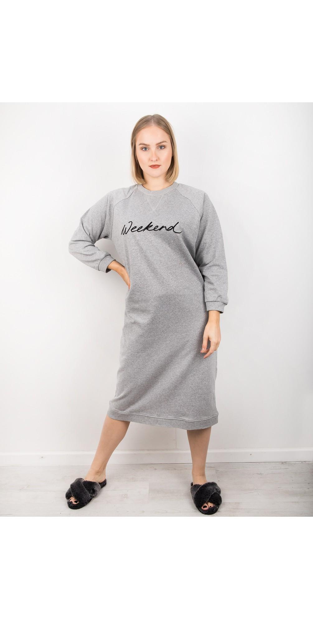 Steph Weekend Sweatshirt Dress main image