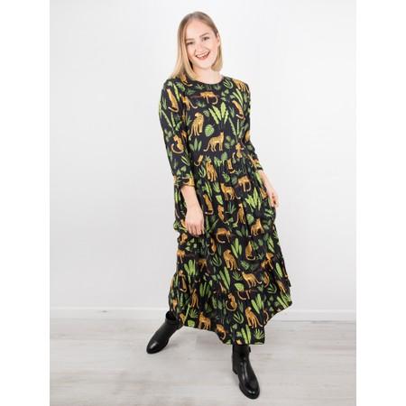 Luella Vanessa Leopard Print Dress - Black