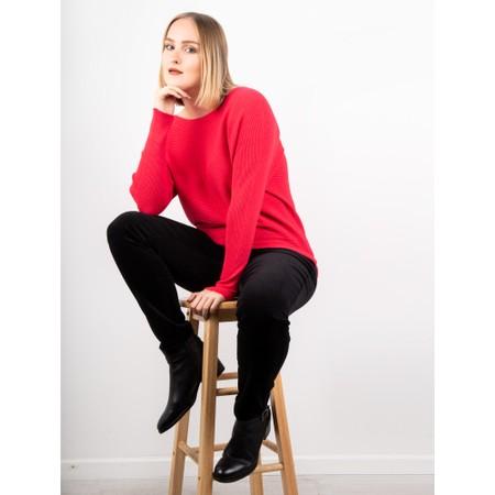 Robell Rose Black NeedleCord Slimfit Trousers - Black