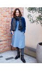 Tamaris  Black  Hiker Leather Duotex Fur Trim Boot