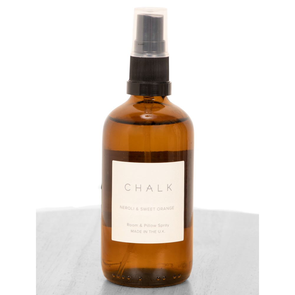 Chalk Home 100ml Amber Apothocary Room and Pillow Spray Neroli and Sweet Orange