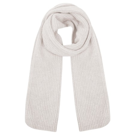 Amazing Woman  Chlobo Vertical Ribbed Scarf - Off-White