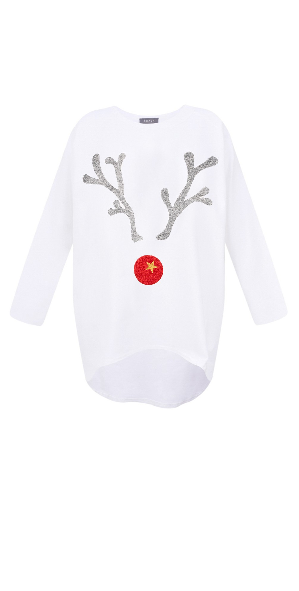 Robyn Giant Reindeer Top main image
