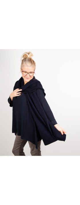 Amazing Woman Coby Supersoft Scarf Dark Navy Blue