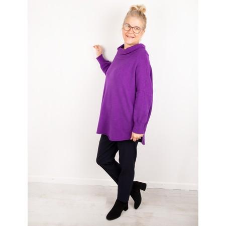 Amazing Woman  Vera Oversized Knit Jumper - Brown