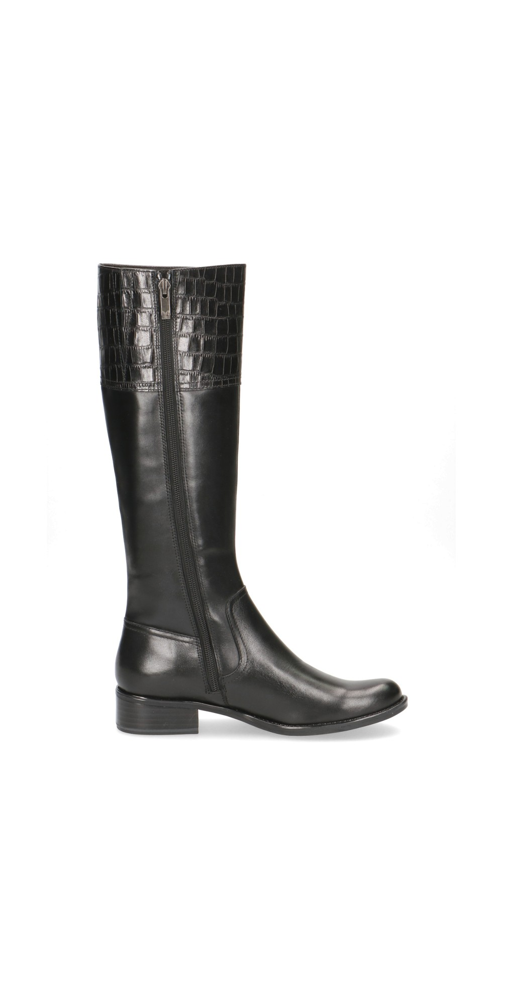 Linzy Equestrian Style Long Leather Boot  main image