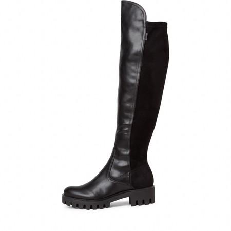 Tamaris Rbulo 50-50 Long Stretch Long Boot - Black
