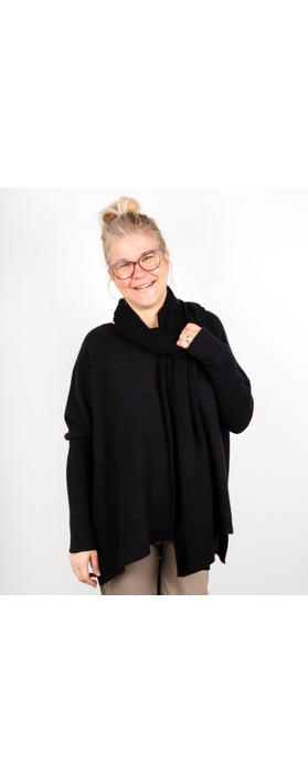 Amazing Woman Coby Supersoft Scarf Black