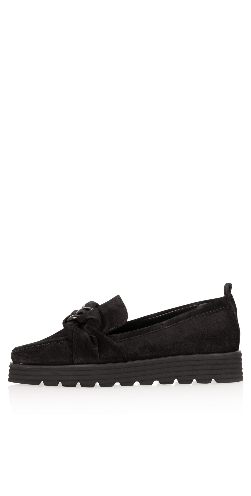 Lea XXL Suede Snaffle Loafer main image