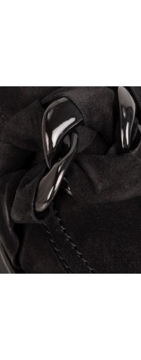 Kennel Und Schmenger Lea XXL Suede Snaffle Loafer Schwarz/Black