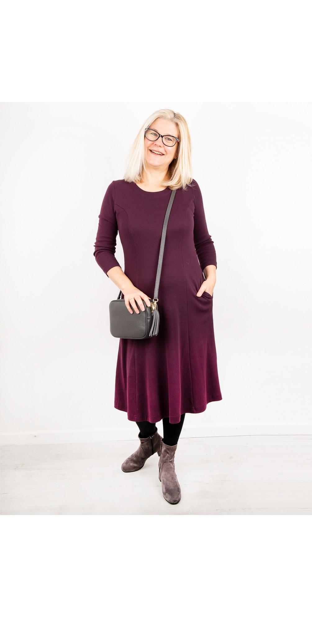 Kathi Fit & Flare Midi Dress main image