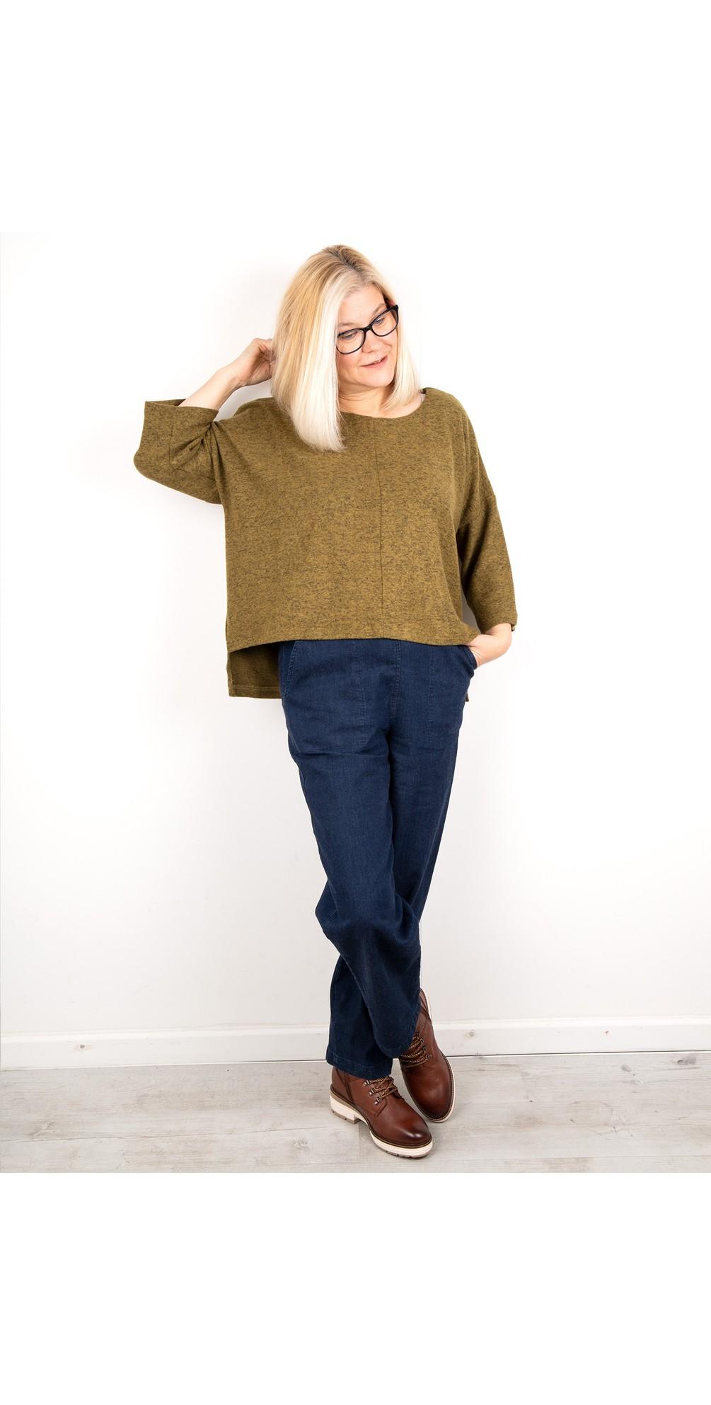 Hannah Supersoft Fleece Rectangle Top main image