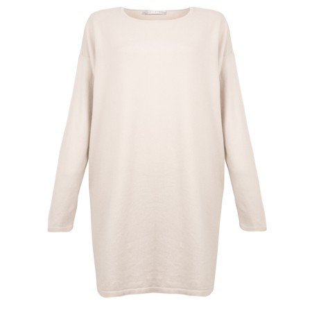 Amazing Woman  Wells Round Neck Slouch Knit - White
